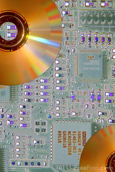 Picture of Printed Circuit Board - Free Pictures - FreeFoto.com