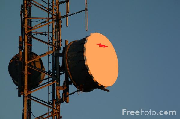 Picture of Microwave Communication Links - Free Pictures - FreeFoto.com