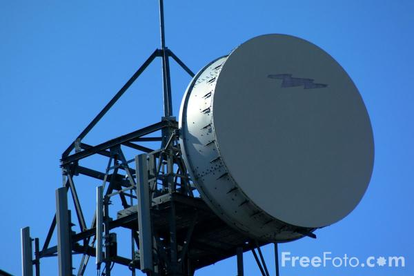 microwave communication link pictures  free use image  04