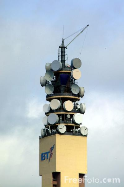Picture of BT Tower, Birmingham - Free Pictures - FreeFoto.com