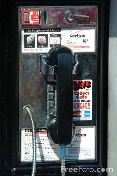 Picture of Pay Phone - Free Pictures - FreeFoto.com
