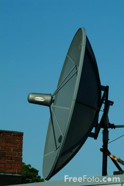 Picture of Satellite Dish - Free Pictures - FreeFoto.com