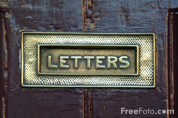 letter boxes. Picture of Letter Box - Free
