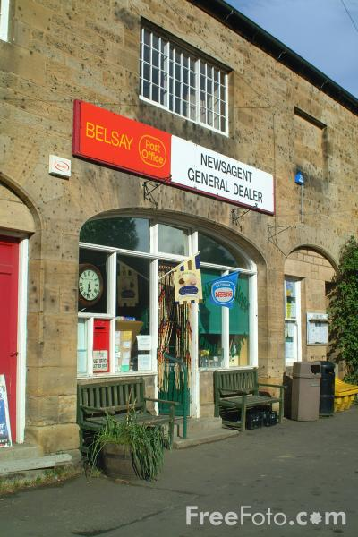 Picture of Belsay Village Post Office - Free Pictures - FreeFoto.com