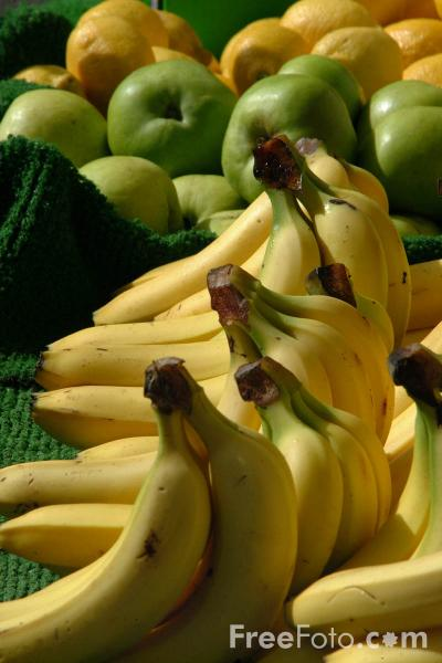 Picture of Bananas - Free Pictures - FreeFoto.com