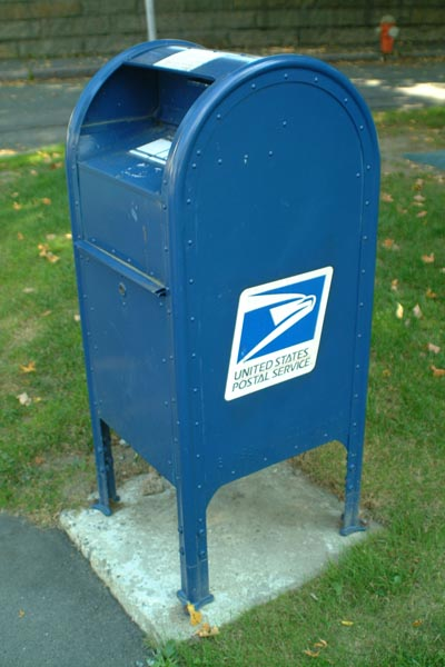 Picture of US Mail Box - Free Pictures - FreeFoto.com
