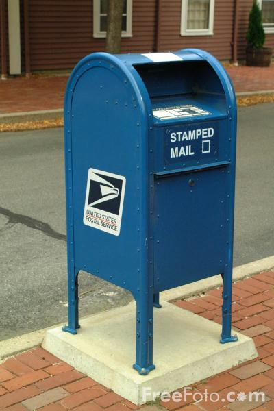 post office box in us