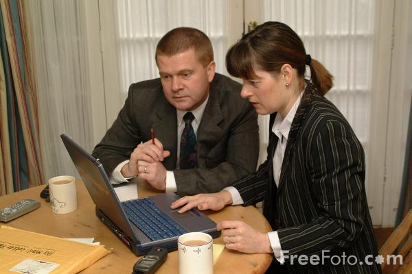 Picture of Business Meeting - Free Pictures - FreeFoto.com