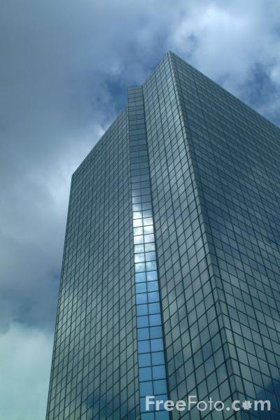 Picture of Modern Office Building, Brussels, Belgium - Free Pictures - FreeFoto.com