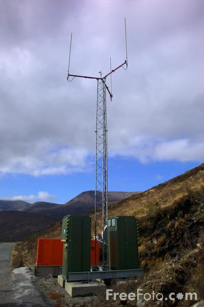 Picture of Transportable Cell Phone Tower - Free Pictures - FreeFoto.com