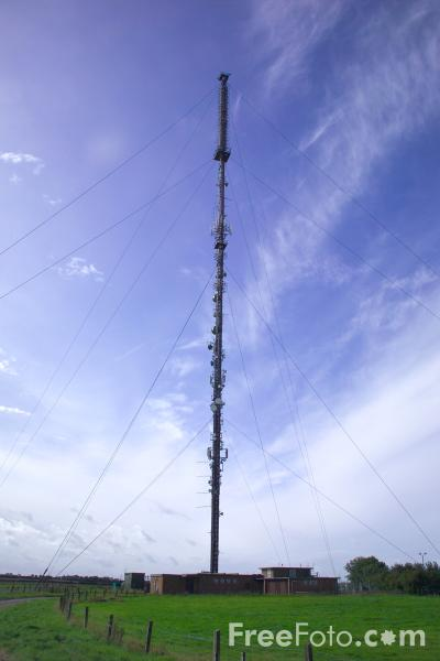 Picture of Television Mast - Free Pictures - FreeFoto.com