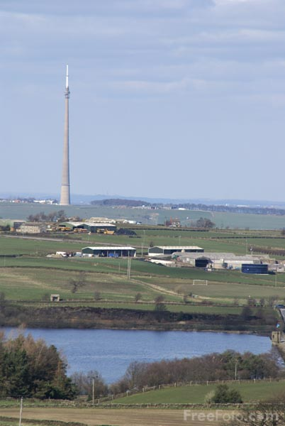 Picture of Emley Moor Tower - Free Pictures - FreeFoto.com