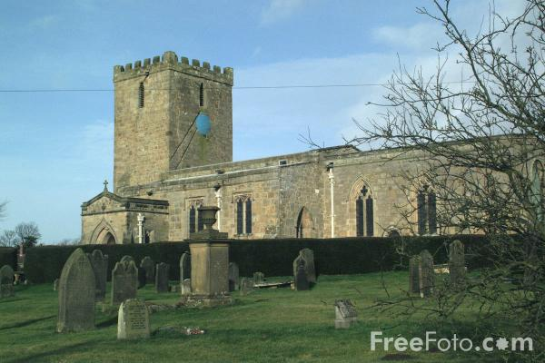Picture of Parish Church, Whalton, Northumberland - Free Pictures - FreeFoto.com