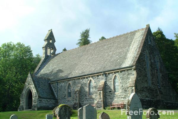 Picture of Balquhidder Victorian church, Scotland - Free Pictures - FreeFoto.com