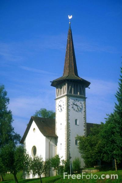 Picture of Church, Switzerland - Free Pictures - FreeFoto.com