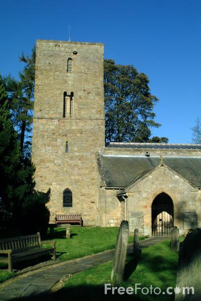 Picture of Parish Church, Bolam, Northumberland - Free Pictures - FreeFoto.com