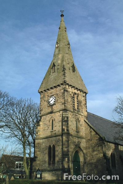 Picture of Parish Church, Alnmouth, Northumberland - Free Pictures - FreeFoto.com