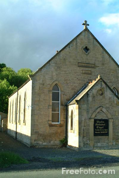Picture of Warden Methodist Chapel, Northumberland - Free Pictures - FreeFoto.com