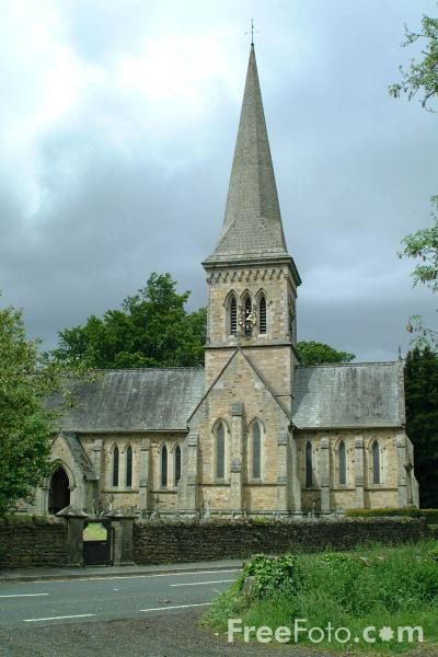 Picture of Parish Church, Whitfield, Northumberland - Free Pictures - FreeFoto.com