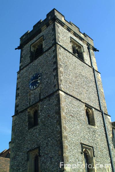 Picture of Clock Tower, St Albans - Free Pictures - FreeFoto.com