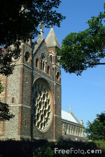 Picture of The Cathedral and Abbey Church of Saint Alban - Free Pictures - FreeFoto.com