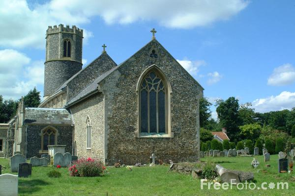 Picture of Parish Church, Roydon, Norfolk - Free Pictures - FreeFoto.com
