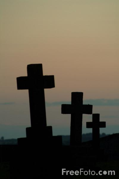 Picture of Three Crosses - Free Pictures - FreeFoto.com