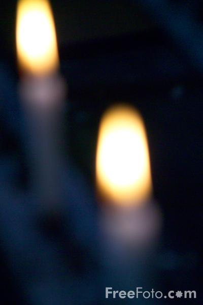 Picture of Church Candle - Free Pictures - FreeFoto.com