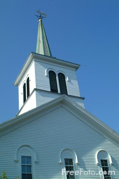 Picture of First Baptist Church, Mt. Pleasant - Free Pictures - FreeFoto.com