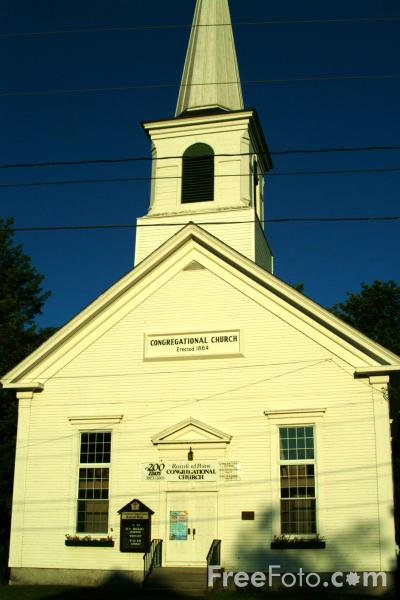 Picture of Church Buildings - New England - Free Pictures - FreeFoto.com