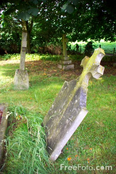 Picture of Graveyard - Free Pictures - FreeFoto.com