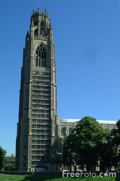 Picture of Boston Stump - The tallest parish church tower in England - Free Pictures - FreeFoto.com