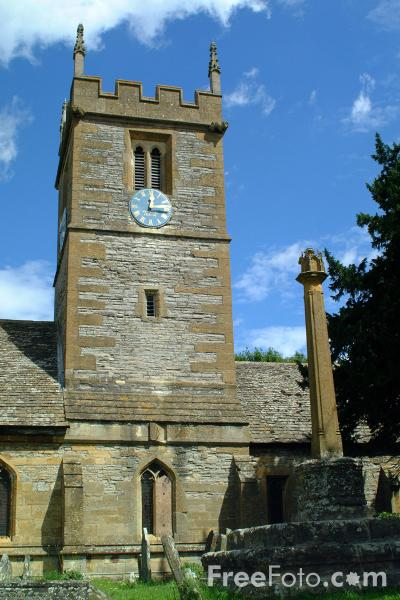 Picture of St Andrew Church, Great Hampton, Evesham - Free Pictures - FreeFoto.com