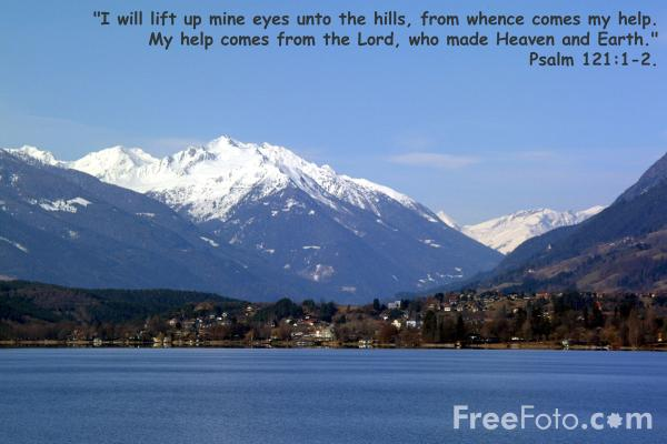 Picture of I will lift up mine eyes unto the hills - Free Pictures - FreeFoto.com