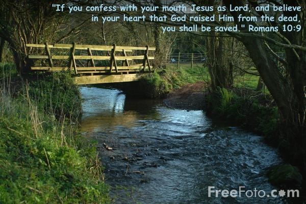 Picture of If you confess with your mouth Jesus as Lord - Free Pictures - FreeFoto.com