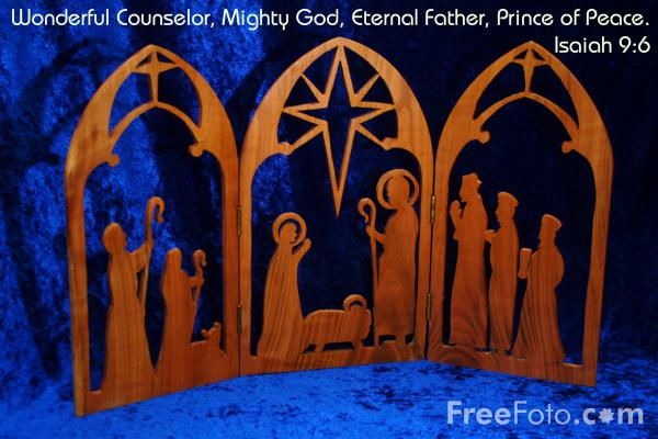 Picture of Isaiah 9:6 - Free Pictures - FreeFoto.com