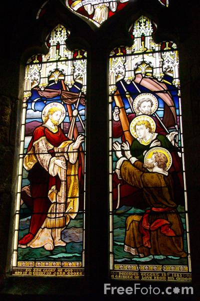 Picture of Stained Glass - Free Pictures - FreeFoto.com