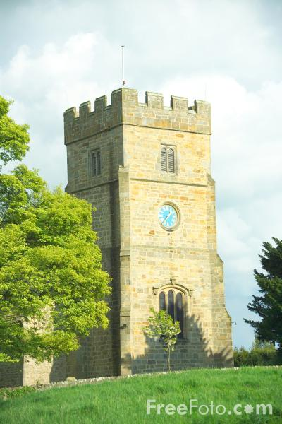 Picture of All Saints' Church, Manfield - Free Pictures - FreeFoto.com