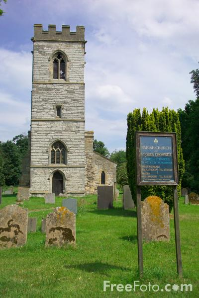 Picture of The Parish Church of St.Giles, Cromwell, Nottinghamshire - Free Pictures - FreeFoto.com