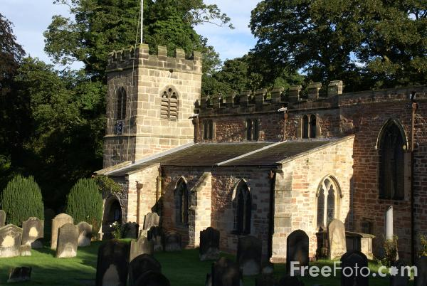 Picture of St Peter's Church, Croft on Tees - Free Pictures - FreeFoto.com