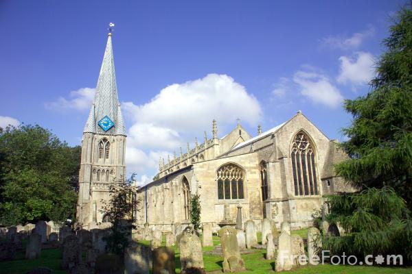 Picture of St Mary's Parish Church Long Sutton. - Free Pictures - FreeFoto.com