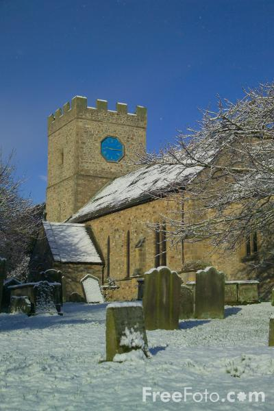 Picture of St Cuthbert's Parish Church, Forcett - Free Pictures - FreeFoto.com
