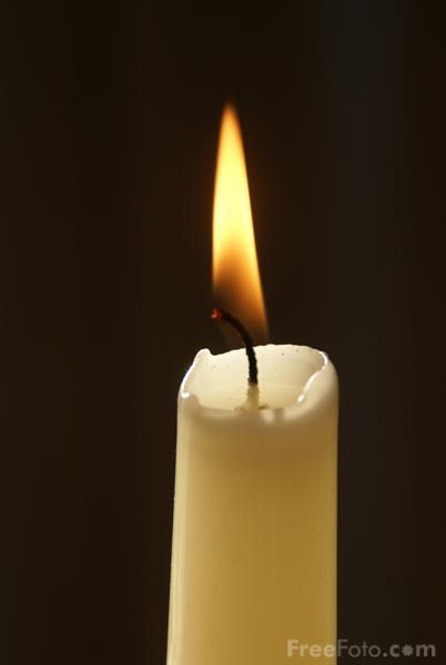 Picture of Candle - Free Pictures - FreeFoto.com