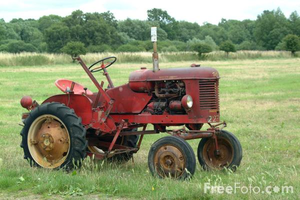 Oldest Antique Tractors : Old tractor pictures free use image by freefoto