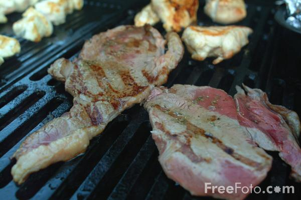 Picture of Barbeque - Free Pictures - FreeFoto.com