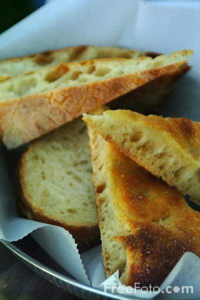 Picture of Italian Bread - Free Pictures - FreeFoto.com