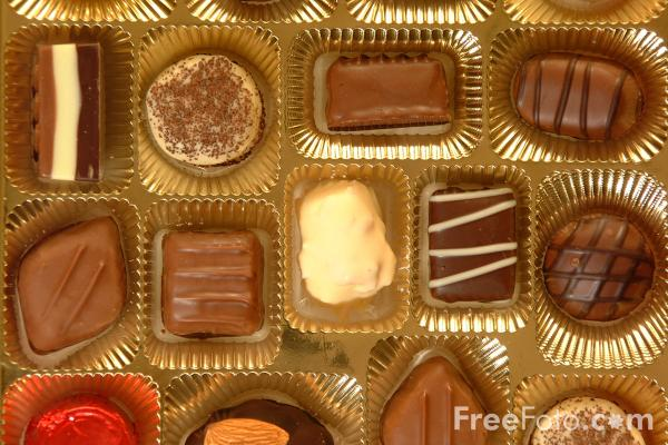 Picture of Chocolates - Free Pictures - FreeFoto.com