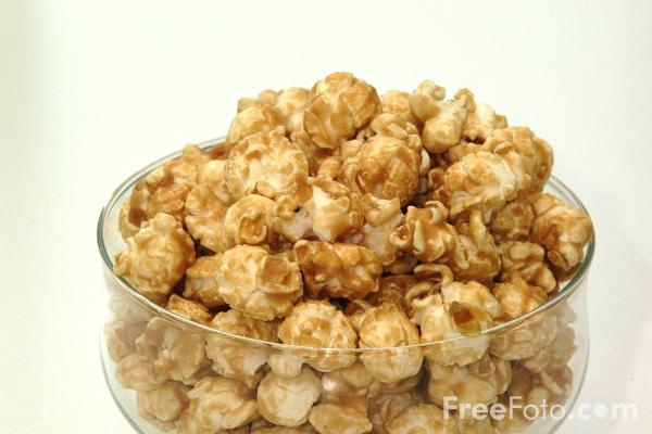 Picture of Popcorn - Free Pictures - FreeFoto.com