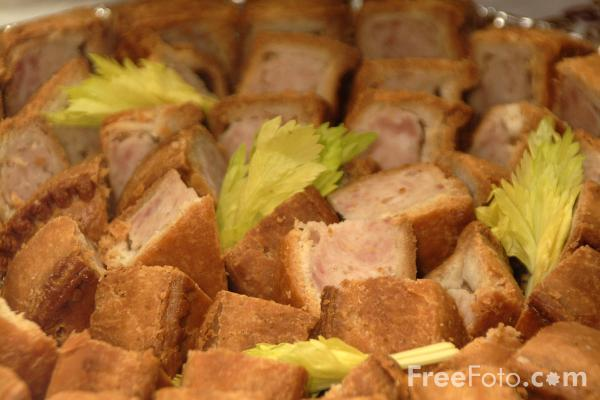 Picture of Pork Pies - Free Pictures - FreeFoto.com