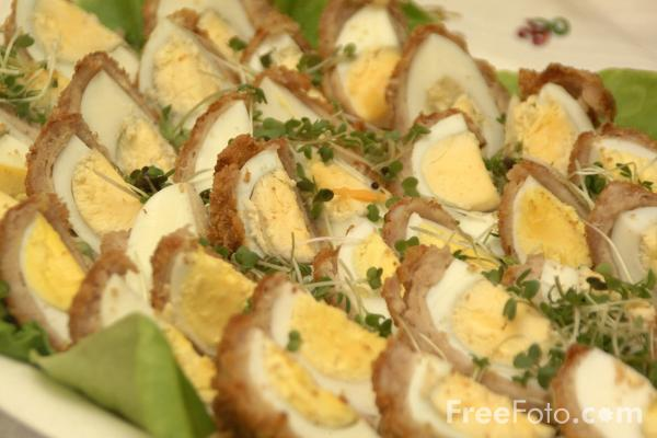 Picture of Scotch Eggs - Free Pictures - FreeFoto.com